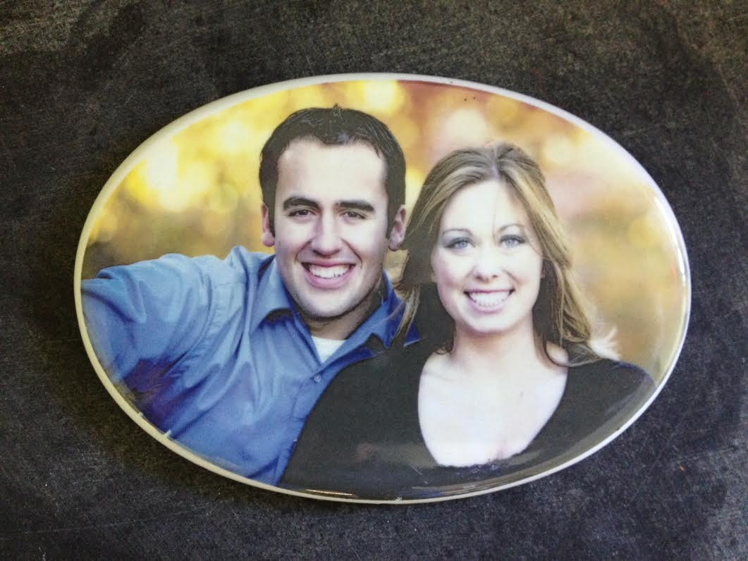 Porcelain Photo Plaque